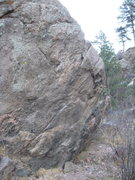 Rock Climbing Photo: Face near the start of the trail to Arthur's Rock,...