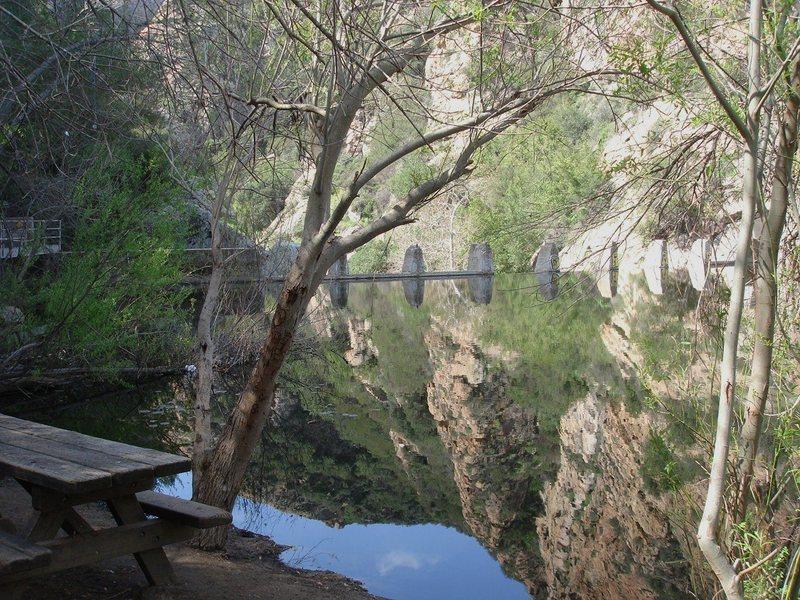 Rock Climbing Photo: the dam