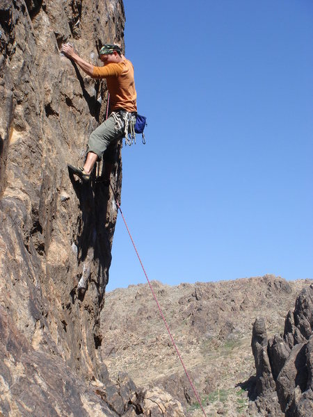 Rock Climbing Photo: Chris Aeria sending Lock Down.