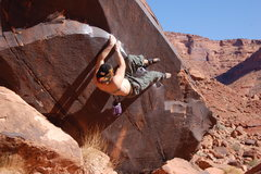 Rock Climbing Photo: BIG HORN BEAVER V-10