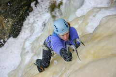 Rock Climbing Photo: Kate Muehling on Andromeda Weeps at Orient Bay, On...