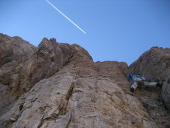 Rock Climbing Photo: Scott Jones, one of the areas main route developer...