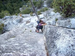 Rock Climbing Photo: Soloing on Royal Arches on a linkup with Crest Jew...