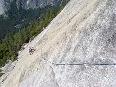 Rock Climbing Photo: Crest Jewel on North Dome.
