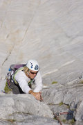 Rock Climbing Photo: Max Senges on the Regular Route 5.9, Fairview Dome...