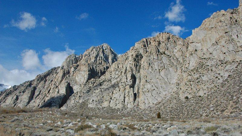 Rock Climbing Photo: Pine Creek granite