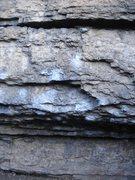 Rock Climbing Photo: Reachy Sidepulls problem at Big Block