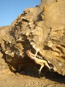 Rock Climbing Photo: Brittny on Iron Man?
