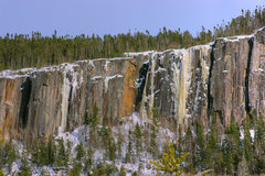 Rock Climbing Photo: Incredible-looking Icebreakers (the yellow icefall...