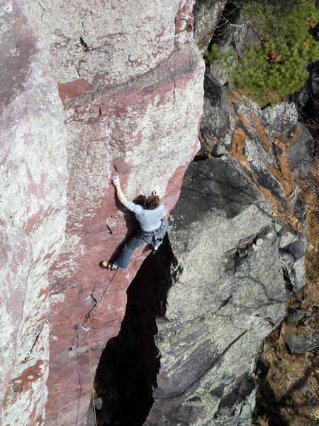 Rock Climbing Photo: Rhoads Photo: J. Fellenz