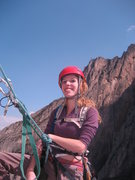 Rock Climbing Photo: a haggard looking Virginia