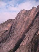 Rock Climbing Photo: Amazing views from the Jungle Wall