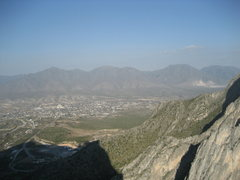 Rock Climbing Photo: Looking out over Hidalgo