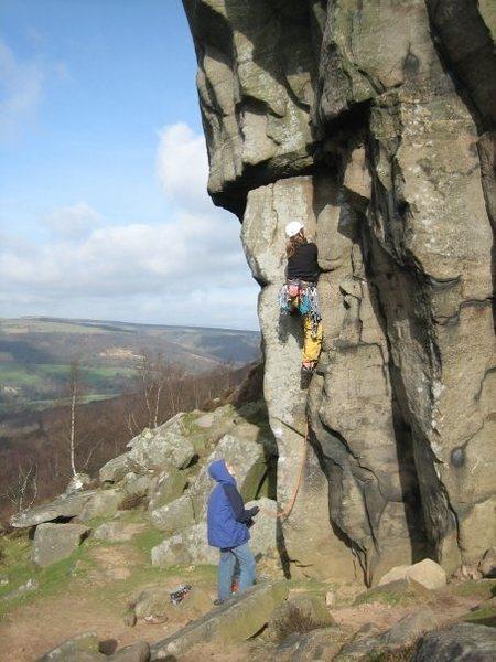 Rock Climbing Photo: Maupassant