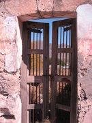 Rock Climbing Photo: Beautiful old gate in downtown Hidalgo