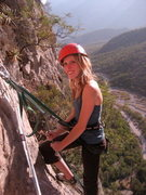 Rock Climbing Photo: C'est moi!