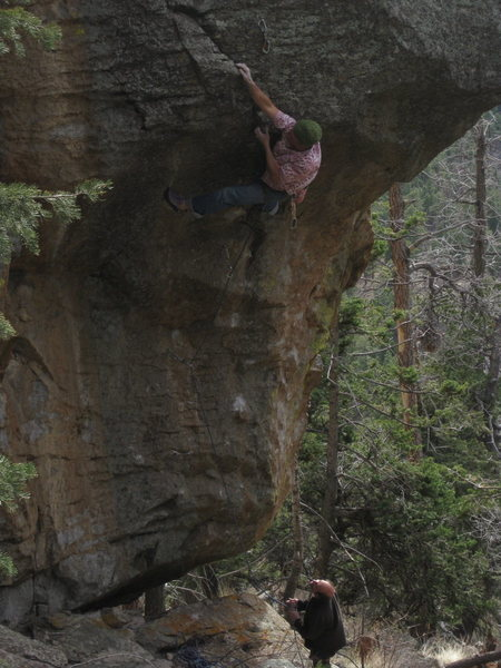 Rock Climbing Photo: Le Lip Move.