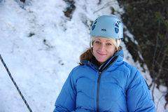 Rock Climbing Photo: Kate. Ontario, March '09.
