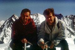 Rock Climbing Photo: Me and Krzysiek Kaminski on top of Koscielec. Poli...