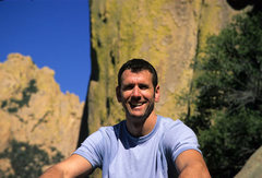 Rock Climbing Photo: Pat Price. Cochise Stronghold. Winter '06.