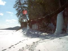 Rock Climbing Photo: Looking southeast wetmore/little presque beach