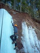 Rock Climbing Photo: me doing some top roping