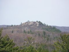 Rock Climbing Photo: West Harlow Peak (viewed from sand lot boulders CR...