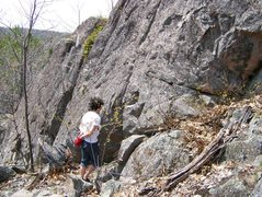 Rock Climbing Photo: Sand lot slab, Wetmore landing CR 550, park on the...