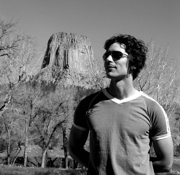 Tracy. Devils Tower. Spring '03.