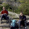 Me and Mark at the North Shore. Fall '02.