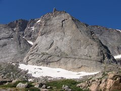 Rock Climbing Photo: East face of the spearhead
