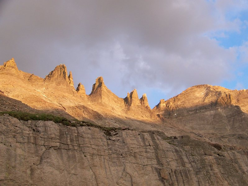 Rock Climbing Photo: The Keyboard of the winds and Pagoda Mt.