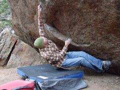 Rock Climbing Photo: Jason climbing