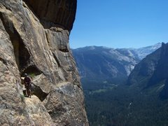 Rock Climbing Photo: Beautiful location before the traverse.
