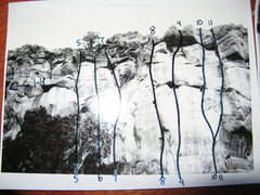 Rock Climbing Photo: Estante Edge right (south) side.  These are photos...