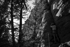 Rock Climbing Photo: One Move Wonder