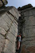 Rock Climbing Photo: Sierra toproping Book of Payne.
