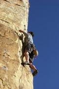 Rock Climbing Photo: Dan on Illegal Smile