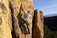 Rock Climbing Photo: Myself on Illegal Smile
