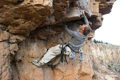 Rock Climbing Photo: Zack killing it on Chunky Monkey