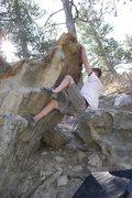 Rock Climbing Photo: Hitting the top