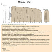 Rock Climbing Photo: Monster wall overview.
