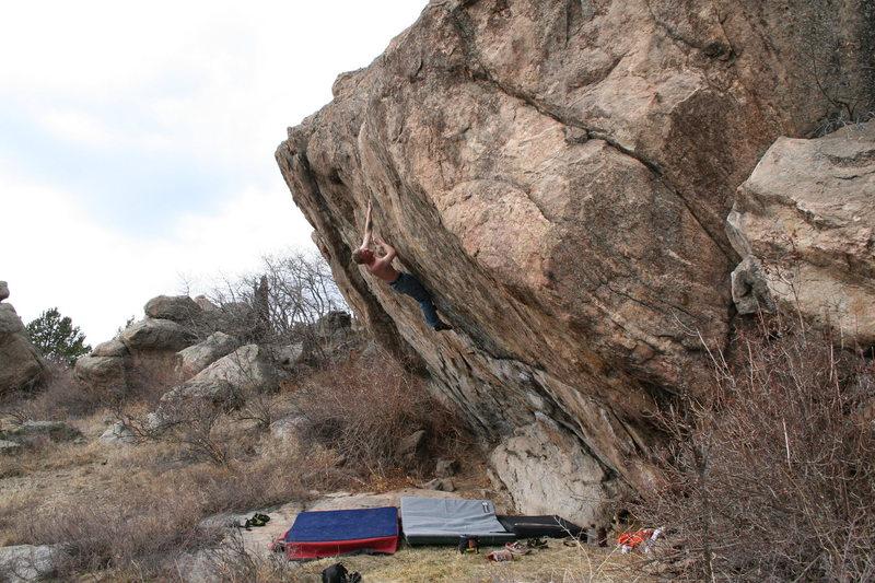 Rock Climbing Photo: Brothers Boulder.