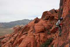 Rock Climbing Photo: Albert Sacred Undergarment Squeeze Job