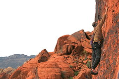 Rock Climbing Photo: Me Sacred Undergarment Squeeze Job