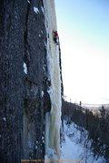 Rock Climbing Photo: Wes Bender on Icebreakers, 3/15/09  Photo: Nick Bu...