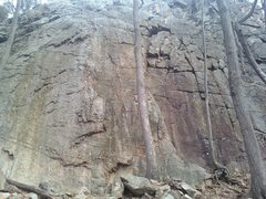 Rock Climbing Photo: Main & right wall . A Year in Life is on left , Un...
