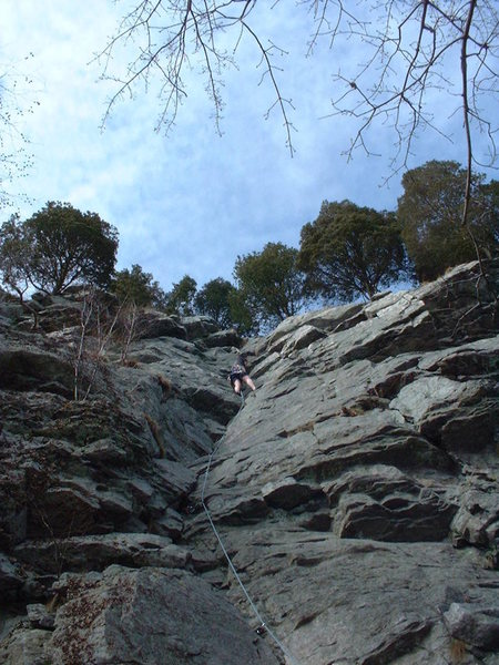 One Bowl Gully , Ricks Rocks