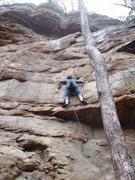 Rock Climbing Photo: gil on Little Viper (10b)