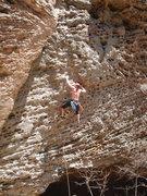 Rock Climbing Photo: Up Yonder (11b)